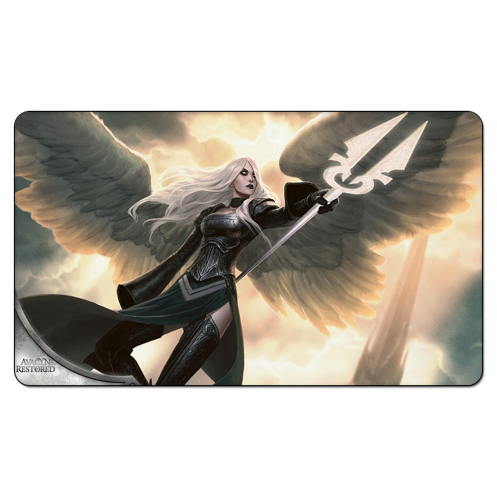 Avacyn Angel Of Hope Playmat Magical Board Games Playmats The Rubber Table Pad