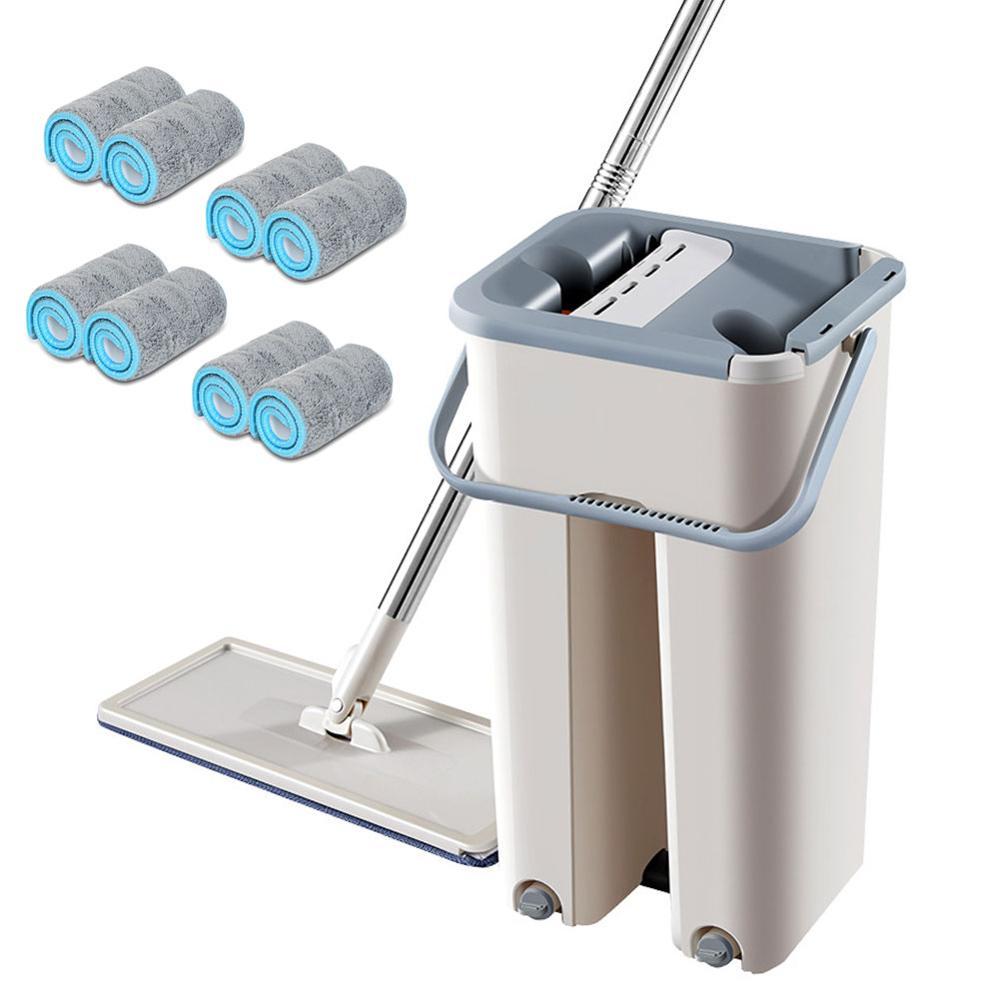 Spray magia automática spin mop evitar lavagem à mão ultrafina fibra pano de limpeza casa cozinha piso madeira preguiçoso companheiro mop