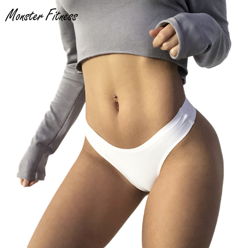 Sports Yoga Shorts Women G String Thongs Low Waist Tanga Briefs Sexy Panties Ladies' Seamless Lingerie Female Underwear Thong sexy mens underwear hot tanga hombre men s thong solid jockstrap gay mens g string underwear sous vetement homme sexy hot