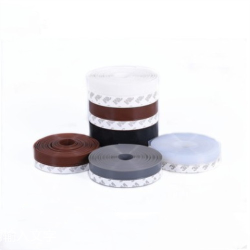5Meters/Lot Door Seal Rubber Strip Window Draught Dust Insect Seal Strip Soundproofing Weatherstrip Frameless Tochtstrip