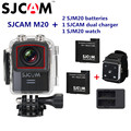Original SJCAM M20 Wifi Gyro Mini Action Sport Camera 4K 24fps NTK96660 16MP 30M Waterproof DV With RAW Format