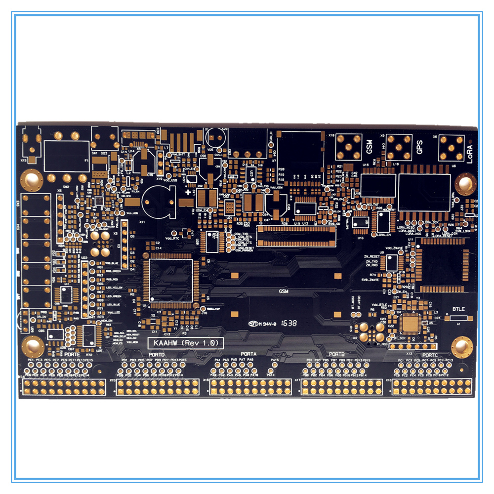 Prilagodite DIY dvostruki PCB 2 sloj FR4 za TV prijemnik i drugu - Kućni audio i video - Foto 5