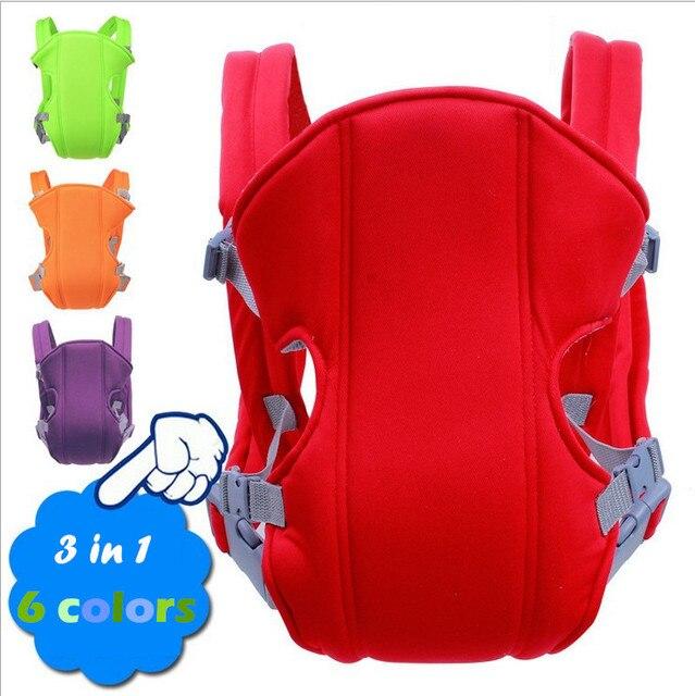 Летом Кенгуру 3D Воздухопроницаемой Сеткой Фронтальная Детские Переноски ребенка Удобная Слинг Рюкзак Чехол Wrap Детские До 3 года