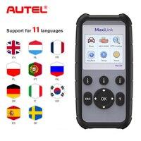 Autel MaxiLink ML629 OBD2 tarayıcı kod okuyucu ABS/SRS çoklu dil araç teşhis aracı  kapatır motor işığı (MIL) ABS/SRS