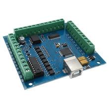 CNC Breakout board USB MACH3 engraving machine 4 Axis 100KHz stepper motion controller card driver board