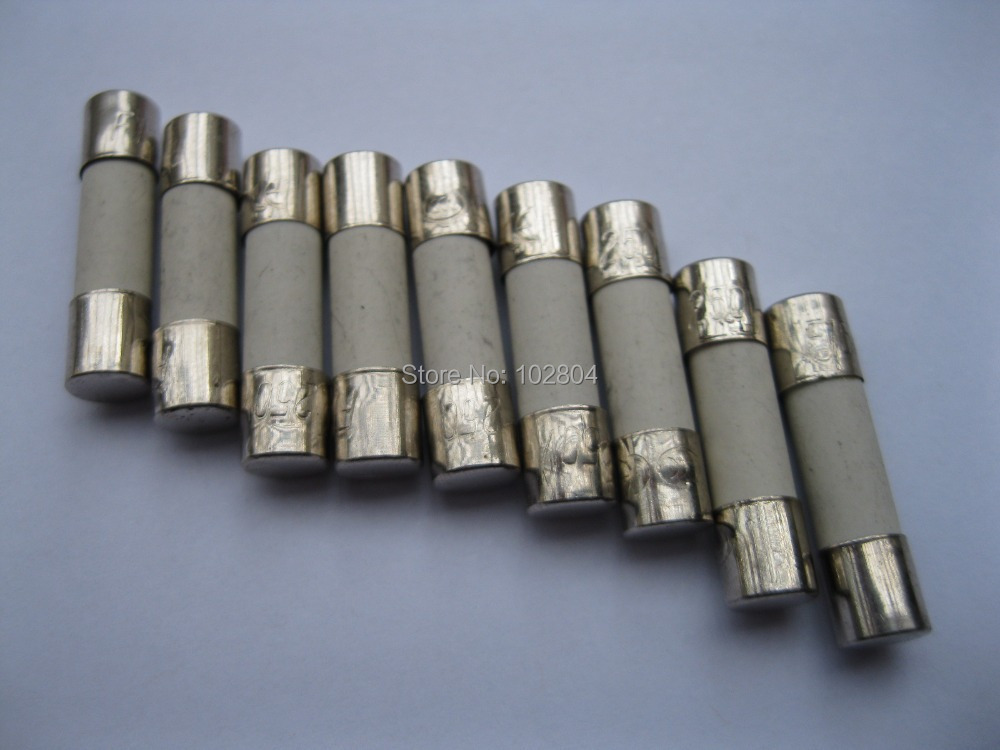 100Pcs New 5mm x 20mm Fast Blow Ceramic Fuses 250V 15A
