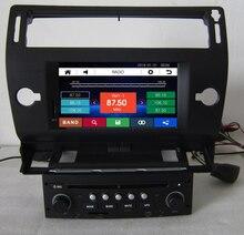 Envío Libre 8 pulgadas de Coches Reproductor de DVD de Navegación GPS para Citroen C4 2004 2005 2006 2007 2008 2009 2010 2011 con RDS AM FM USB