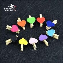 10pcs/set Cocktail Creative Decorative Small Clip pin fixed Bar Tools 10 Colors