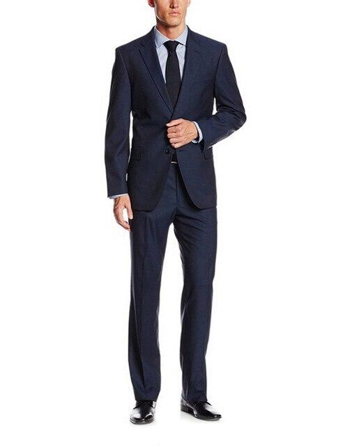 2017 Venda Quente Dos Homens Ternos de Casamento Custom Made vestidos de Casamento Slim Fit Noivo Smoking Para Homens Noivo Ternos Noivo (paletó + Calça)