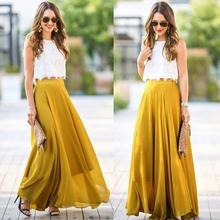 a84b26c30a7a8 Buy womens drop waist maxi skirt and get free shipping on AliExpress.com