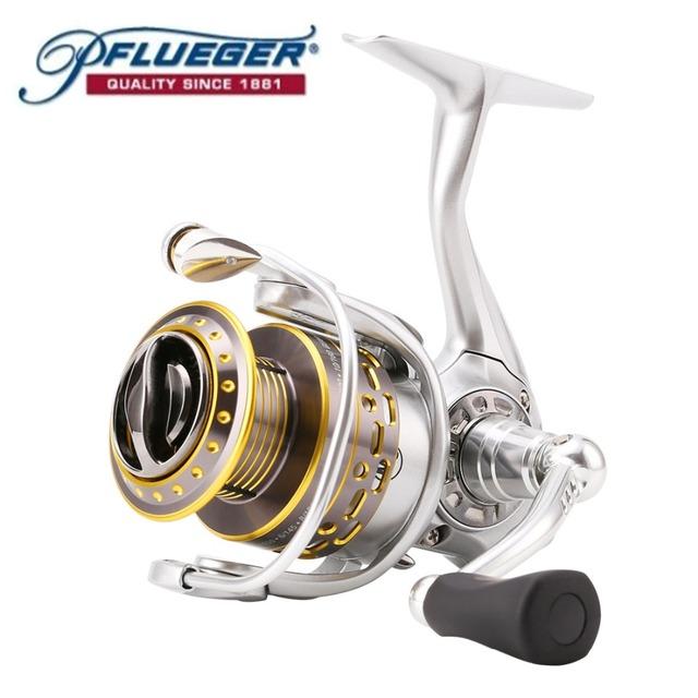 Original Pflueger Supreme SUPSP25X 30X 35X Spinning Fishing Reel 9BB 6.2:1 Metal Magnesium Body Saltwater Fishing Reel