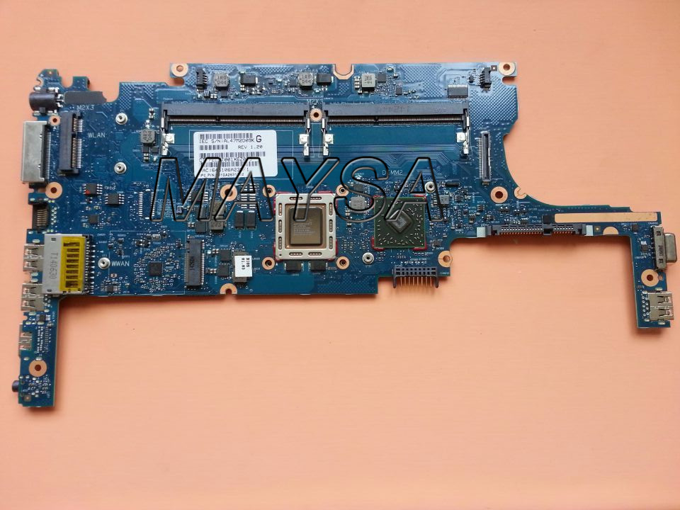 802505-001 6050A2631301-MB-A02 laptop motherboard 802505-501 FOR HP 725-G2 825 G2 motherboard A6 Pro-7050B CPU 743703 601 743703 501 free shipping laptop motherboard 743703 001 for hp m4 242 g2 6050a2593401 mb a02 100