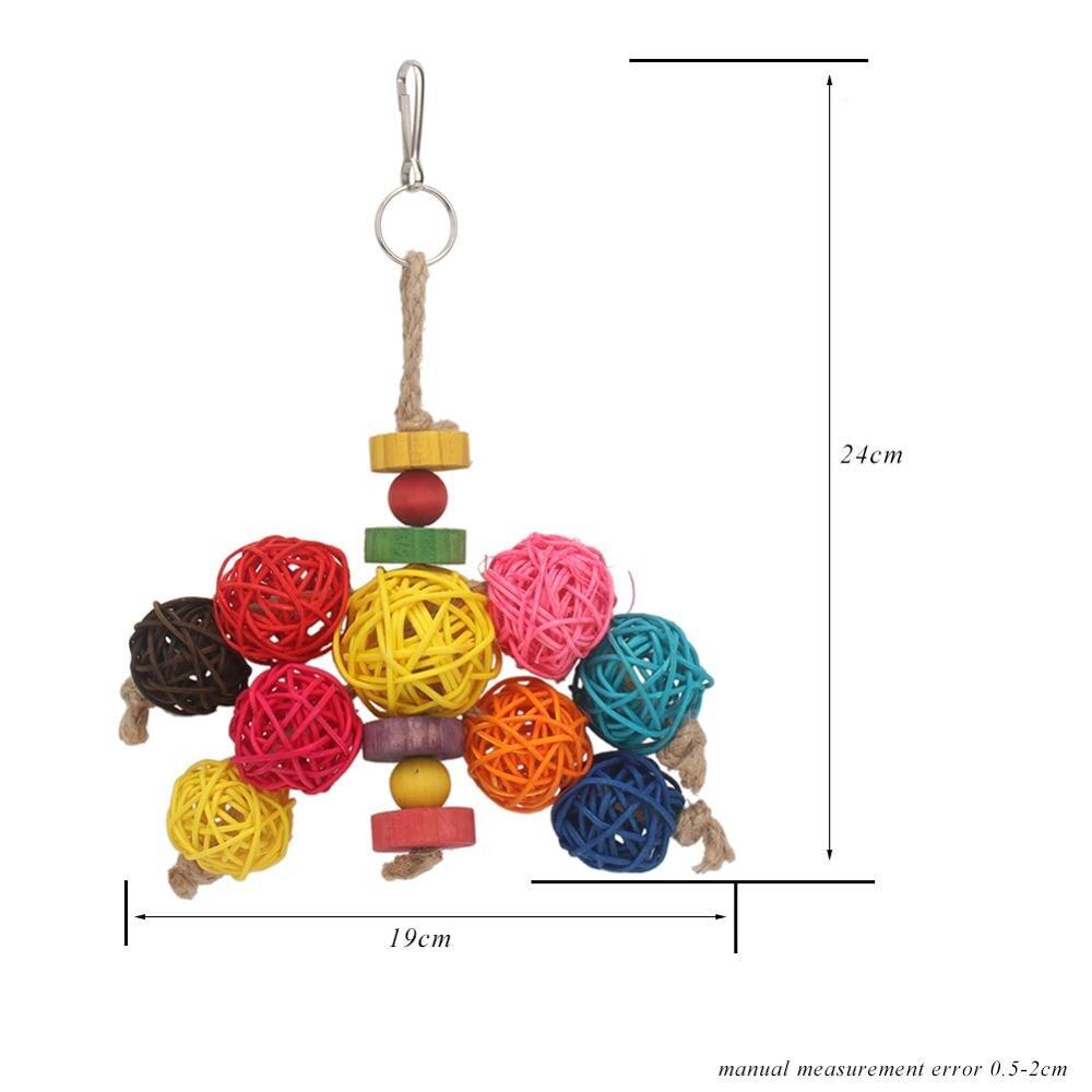 PipiFren попугаи игрушки и аксессуары для птиц игрушки для домашних животных качели стенд волнистый Попугайчик клетка африканский серый vogel speelgoed parkiet - Цвет: 33