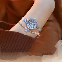 New Hot-selling Watches High-end Linked Watch Custom-made Iron Magnetic Female Fashion & Casual  Chronograph