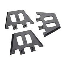 3 шт/компл пластиковые заглушки fcs для установки зажимов используемые