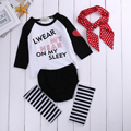 4 UNIDS Set bebé Recién Nacido Bebé Ropa de Niña Linda Bebes Headband Outfit Ropa Traje Mameluco Body Calzoncillos A Rayas Legging Caliente
