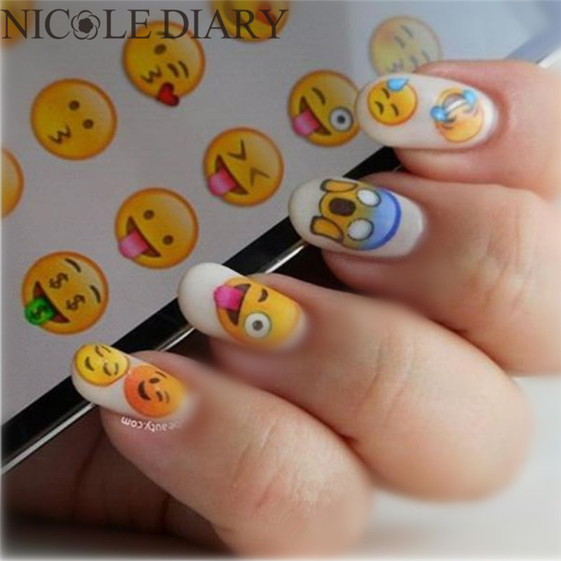 The Nail Art And Beauty Diaries: Aliexpress.com : Buy NICOLE DIARY Nail Art Water Decals