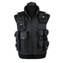 Muti pocket nylon vest for fishing or hunting  put all little tools in pockets very convenient