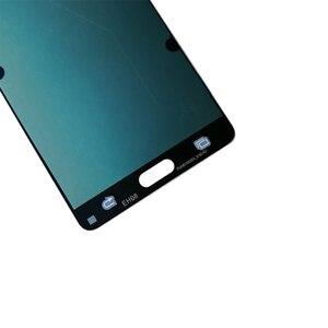 Image 4 - AMOLED لسامسونج غالاكسي A7 2015 A700 A700F A700FD شاشة LCD تعمل باللمس محول الأرقام الجمعية ل غالاكسي A7 2015 أجزاء الهاتف