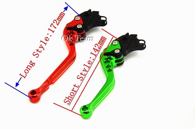 CNC Levers for CBR 600 F2F3 F4 F4i CBR900RR CB600F CBR600F CB599 CB600 HORNET CB919 NC700 VTX1300 Motorcycle Brake Clutch Levers