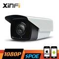 XINFI HD 1080 P CCTV камеры POE 2.0 МП ночного видения Открытый водонепроницаемый сети IP CCTV камеры P2P ONVIF 2.0 ШТ. и Телефон удаленный просмотр