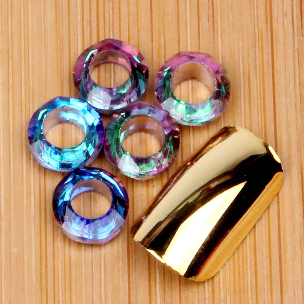 Strass & Dekorationen Realistisch 10 Teile/paket 8mm Runde Form Winkel Ringe Glas Hohl Kristall Chameleon Cabochom Schmuck Nail Art Diy Kleider Kleid Dekoration Online Shop