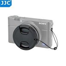 Jjc rx100 m6 adaptador para câmera, para sony ZV 1 rx100 vi rx100 vii, tampa de lente de câmera, keeper 52mm mc kit de tubo de filtros cpl uv