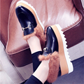 2017 NEW! women's Genuine Leather Flats Fashion Glitter Leather espadrilles women c