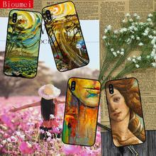 Phone case for iphone XR case modernist art oil painting Soft TPU Cover Coque for iphone XS XS Max  7 8 5 5S 6 6S Plus X 44 цена и фото