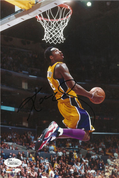 Custom canvas art kobe bryant poster slam dunk sticker for Basketball mural wallpaper