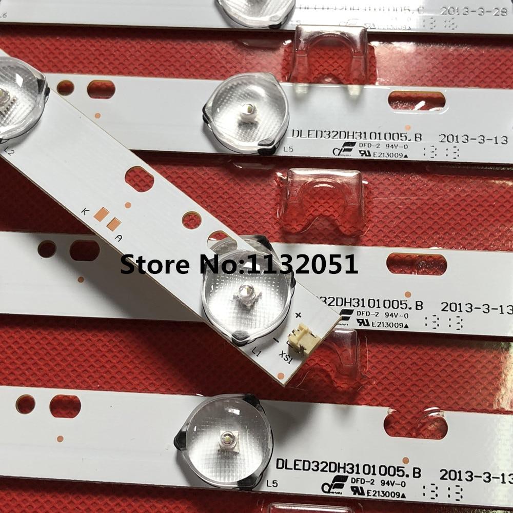 6pcs 32'' 570mm*17mm 10 W/ Optical Lens Fliter For TV Monitor Panel 30V New