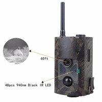 CDMA/WCDMA אלחוטי 3 גרם MMS מצלמה שביל ציד מצלמה HC550G IR LED מקליט וידאו 16MP גשם הוכחה