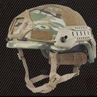 Tactische AirsoftSports Helmen ACH MICH 2001 ABS Helm Speciale Action Militaire Combat Versie Met NVG Mount En Side Rail