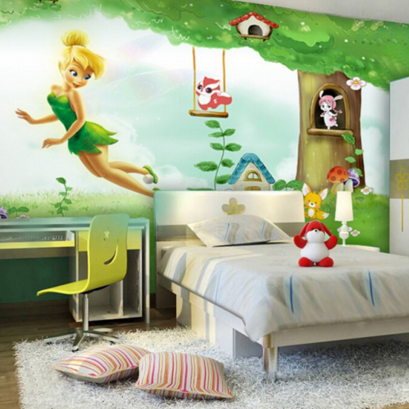3d wall paper children 39 s bedroom background wallpaper for Fabrics for children s rooms