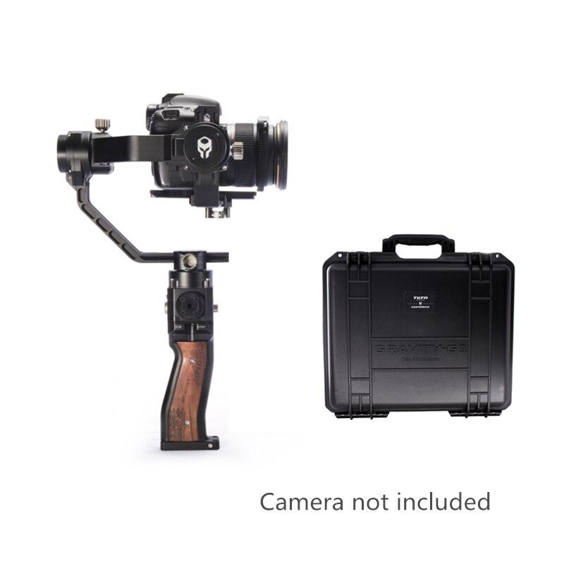 TILTA MAX G2 gravité 3 axes stabilisateur DSLR poche cardan charge 3.5 KG étui pour SONY Canon sans miroir DSLR GH5 5D3 A7 Gopro