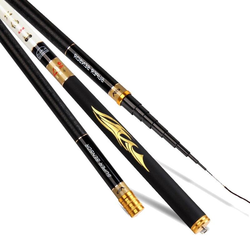 Ultra Light Telescopic Fishing font b Rod b font Carbon Fiber Carp Fishing font b Rod