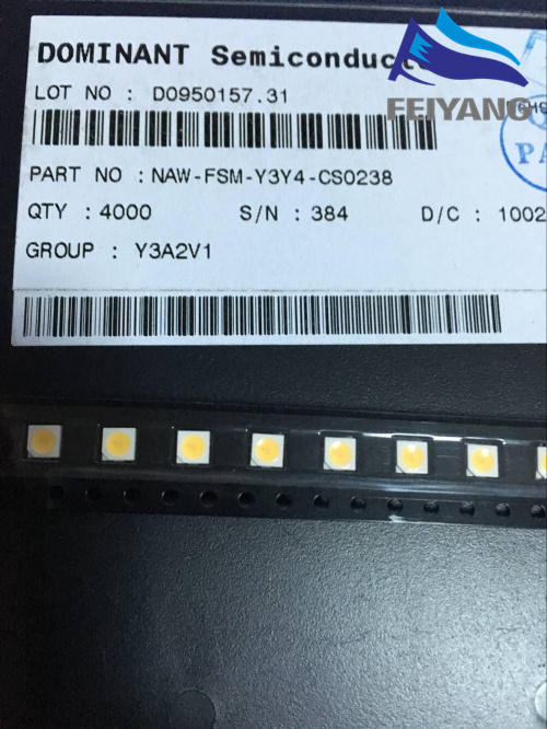 1000pcs For Sharp Led Tv Application Lcd Backlight For Tv Led Backlight 1w 3v 3535 3537 Cool White Gm5f22zh10a Active Components