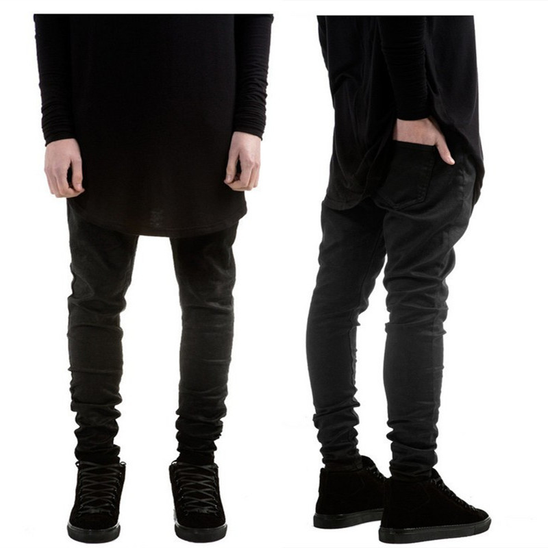 Aliexpress.com : Buy New Fashion Mens Black Skinny Jeans ...