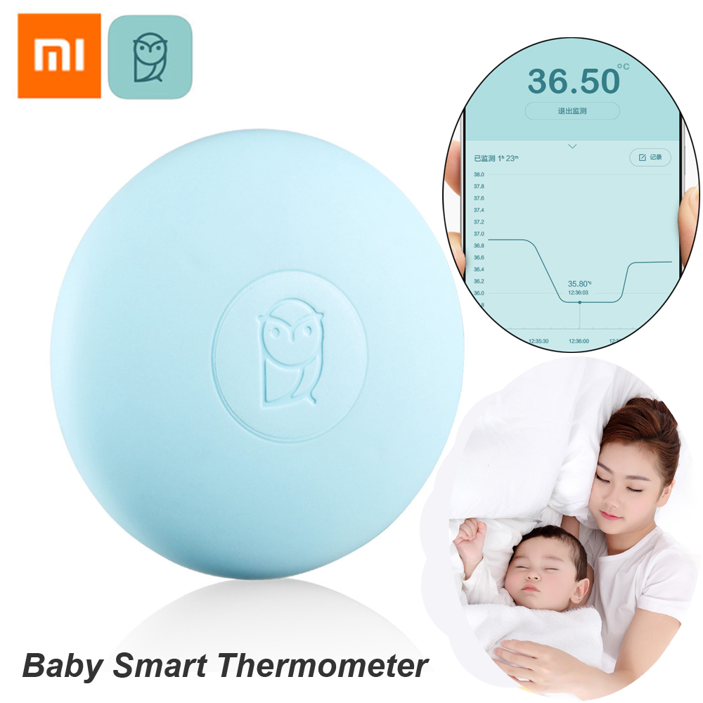 Xiaomi Miaomiaoce Digital Baby Smart Thermometer Clinical Thermometer Accrate Measurement Constant Monitor High-Temprature Alarm clinical