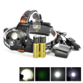 Boruit Zoomable LTS LED+Green Laser Rechargeable 18650 Headlamp Headlight Head Torch + Car AC Charger
