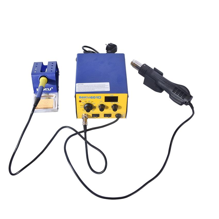 1PC 220V BAKU BK-601D LED Digital Display Hot Air SMD Rework Station, hot air solder station BGA rework недорго, оригинальная цена