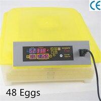Quail Automatic Egg Incubator China 48 Eggs Hatcher Cheap Machine Turnning Bird Duck Chicken Egg
