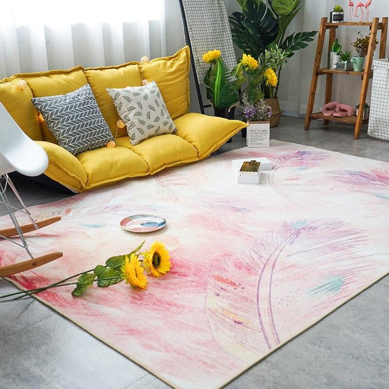 Girl's Room Rugs Carpets For Living Room Bedroom Rug Home Carpet Floor Door Mat Hot Decorate House Hotel Anti-Slip Mat Soft Rugs(China)