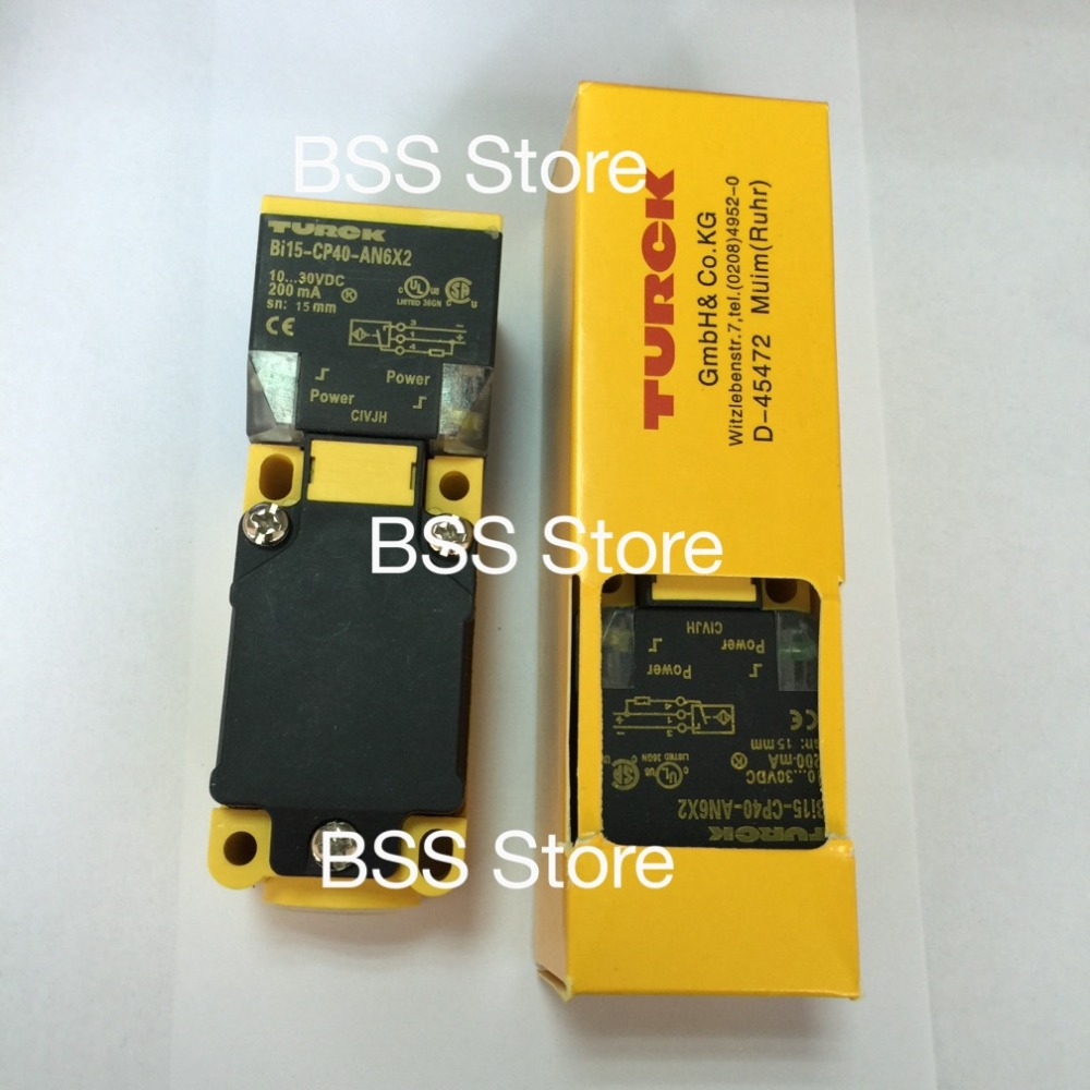 FREE SHIPPING Sensor Bi15-CP40-AN6X2 proximity switch sensor