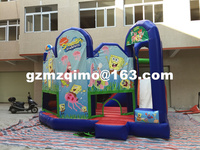 FREE BY SEA Outdoor inflatable jumping castle, inflatable bouncer and slide combos for children toy