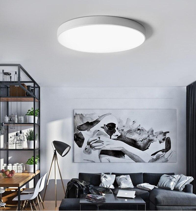 Moderno led luz de teto sala estar