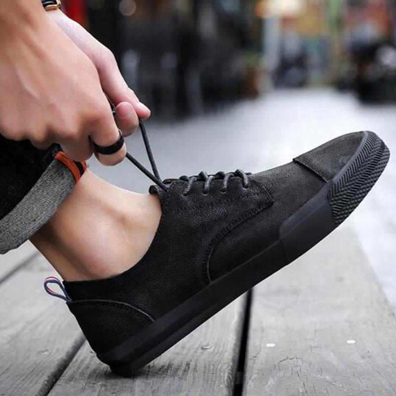 Männer Outdoors Wear Casual Wohnungen Lace-up Desodorierung - Herrenschuhe - Foto 4