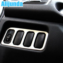 Alijunda Accessories FIT FOR MITSUBISHI ASX OUTLANDER SPORT 2010 2011 2012 2013 2014 HEADLIGHT FOGLIGHT SWITCH CHROME COVER TRIM(China)