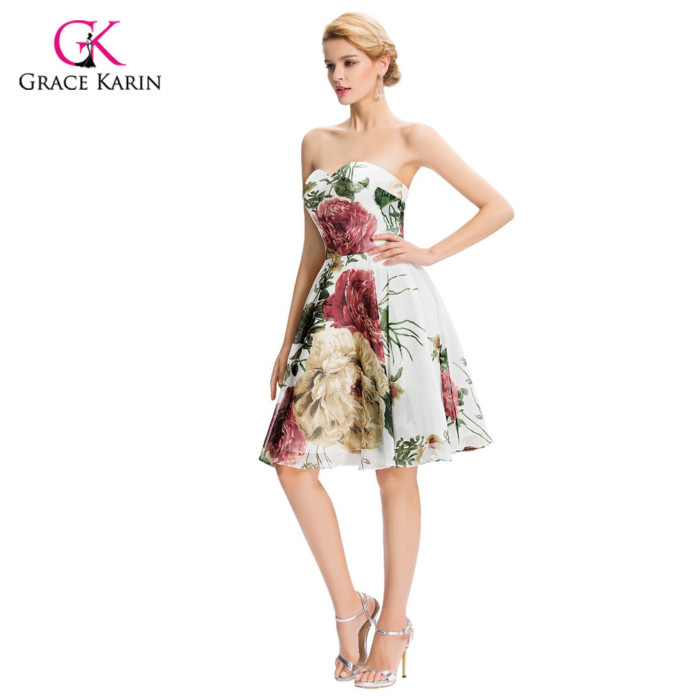 Cheap short bridesmaid dresses under 50 grace karin floral print cheap short bridesmaid dresses under 50 grace karin floral print bridesmaid dress 2017 wedding party dress prom dresses gk32 in bridesmaid dresses from ombrellifo Gallery