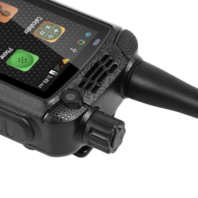 UNIWA Alps F22 + смартфон с сенсорным экраном 2,4 дюйма, рация на Android, мобильный телефон 5MP + 2 MPCamera, две sim карты, крепкий аккумулятор - 5